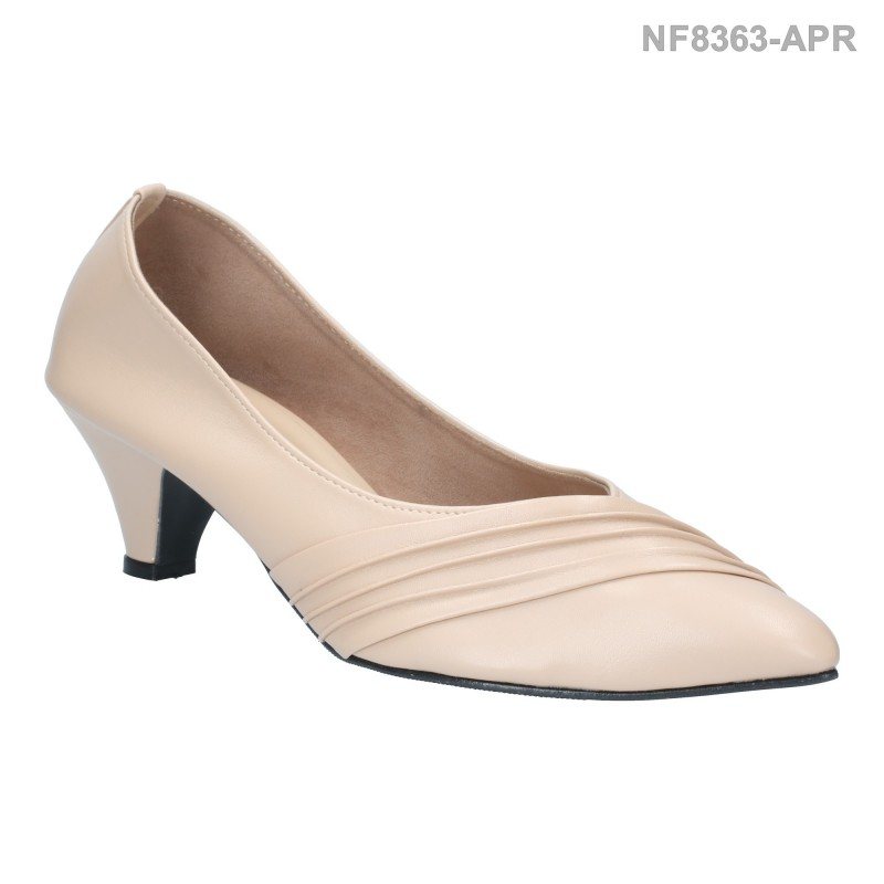 ลดล้างสต๊อก รองเท้าส้นเตี้ย NF8363-APR [สีแอปริคอท]