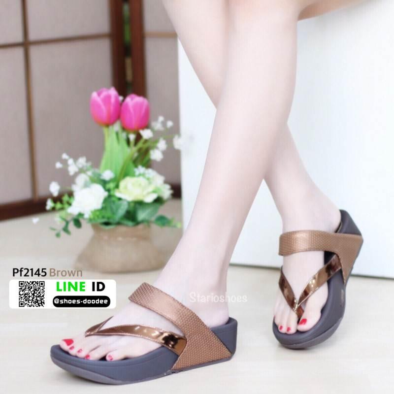 รองเท้าสุขภาพสไตล์ฟิตฟรอป PF2145-BRN [สีน้ำตาล]