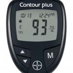 เครื่องเจาะวัดน้ำตาลในเลือด รุ่น Contour Plus (Bayer) รหัส MEI14