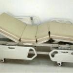 เตียงไฟฟ้า 3 ไกร์ ไฟฟ้า,แบตฯ แบบ ABS ราวปีกนก รหัส MEA015
