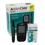 เครื่องเจาะวัดน้ำตาลในเลือด รุ่น Accu-Check Active แอคคิวเช็ค แอคทีฟ รหัส MEI02