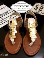 รองเท้าแตะรัดส้นสีขาว STYLE-STEVE MADDEN แบบชนSHOP แฟชั่นเกาหลี แฟชั่นพร้อมส่ง