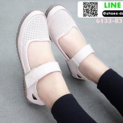 รองเท้าส้นเตี้ย สไตล์สุขภาพ 6133-83-PNK [สีชมพู]
