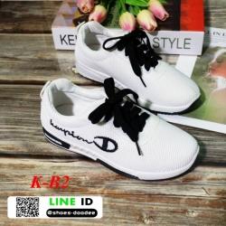 รองเท้าผ้าใบเพื่อสุขภาพนำเข้า สวยชิคสุดๆ K-B2-ดำ [สีดำ]