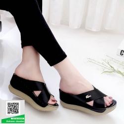 งานสวยรองเท้าเตารีดที่นิ่มสุดใน 3 โลก 5214-ดำ [สีดำ]