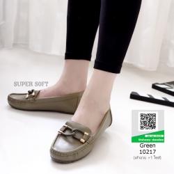รองเท้าโลเฟอร์ มีไซส์ 41 คลาสสิคมาก 10217-เขียว [สีเขียว]