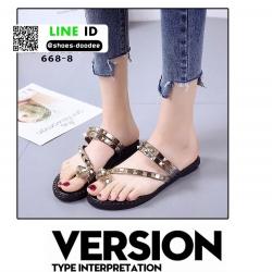 รองเท้าแตะ สไตล์ VALENTINO 668-8-GLD [สีทอง]