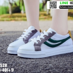 รองเท้าผ้าใบแฟชั่น ST528-GRN [สีเขียว]