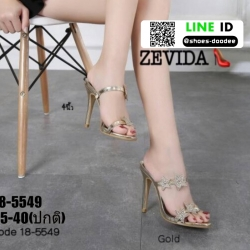 รองเท้าส้นสูงติดดาว 18-5549-GLD [สีทอง]