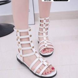 รองเท้าสไตล์แกดิเอเตอร์ ST1620-WHI [สีขาว]