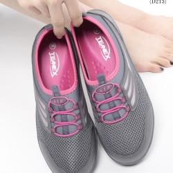 รองเท้าผ้าใบเพื่อสุขภาพ น้ำหนักเบา Supportเท้าได้ดีมาก STYLE SKECER (สีเทาเข้ม )