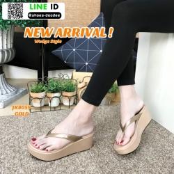 รองเท้าสไตล์ลำลองแบบหนีบ JK8059-GLD [สีทอง]