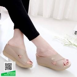 งานสวยรองเท้าเตารีดที่นิ่มสุดใน 3 โลก 5214-กากี [สีกากี]