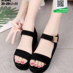 รองเท้าลำลองรัดข้อ ST9962-BLK [สีดำ]