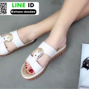 รองเท้าลำลองสุขภาพ 88-9-WHI [สีขาว]