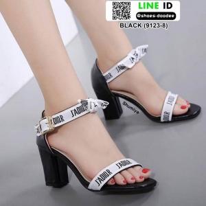 ส้นสูง Style Dior 9123-8-BLACK [สีดำ ]