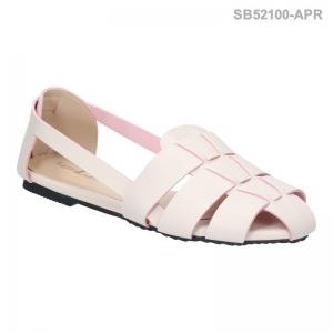 ลดล้างสต๊อก รองเท้าส้นแบน SB52100-APR [สีแอปริคอท]