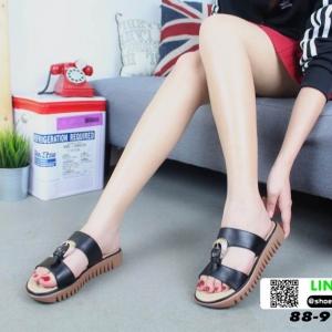 รองเท้าลำลองสุขภาพ 88-9-BLK [สีดำ]