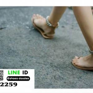 รองเท้าแตะสุดแนว สุดเก๋ 2259-BWN [สีน้ำตาล]