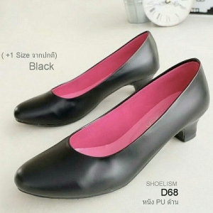 รองเท้าคัชชู ทรงสุภาพ (สีดำ)