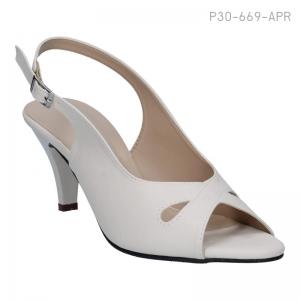 ลดล้างสต๊อก รองเท้าส้นเตี้ย P30-669-APR [สีแอปริคอท]