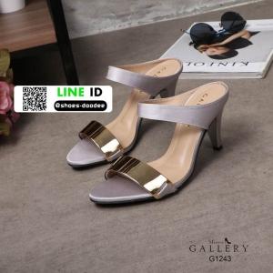 รองเท้าส้นเตารีด style FitFlop PF2183-BLK [สีดำ]