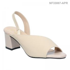 ลดล้างสต๊อก รองเท้าส้นเตี้ย NF33067-APR [สีแอปริคอท]