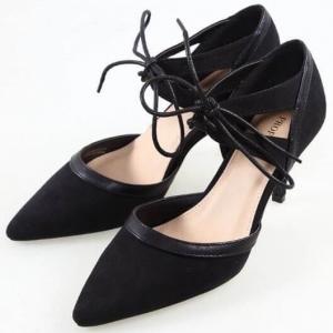 รองเท้าส้นสูงงานไฮคลาส (สีดำ)