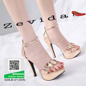รองเท้าส้นสูง สไตล์MAXXI 17-2315-GOLD [สีทอง]
