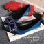 รองเท้าคัทชูหัวแหลมสีน้ำเงิน ส้นเตี้ย สไตล์แบรนด์ Manolo (สีน้ำเงิน ) thumbnail 6