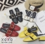 รองเท้าส้นเตี้ยสีเหลือง แต่งหัวเข็มขัด แฟชั่นฮิตมากในเกาหลี (สีเหลือง ) thumbnail 4