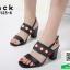 รองเท้าส้นสูงรัดส้นสีดำ สไตล์ GUCCI (สีดำ ) thumbnail 1