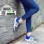 รองเท้าผ้าใบ ทรงสปอร์ต แต่งแถบข้าง SM9025-GRY [สีเทา] thumbnail 2