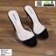 รองเท้าส้นสูงแบบสวม 17-5116-BLK [สีดำ]