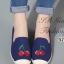 รองเท้าผ้าใบผู้หญิง ขอบเชือกปอ สไตล์โบฮีเมี่ยน (สีกรม ) thumbnail 1