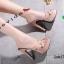 รองเท้าส้นสูงสวมสไตล์แบรนด์ดัง 17-2314-PNK [สีชมพู] thumbnail 1