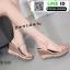 รองเท้าสไตล์รัดส้นงาน สายคาดหน้า 18-1339-PNK [สีชมพู] thumbnail 1