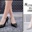 รองเท้าคัทชูส้นสูง หัวแหลม หนังแก้ว (สีดำ ) thumbnail 4