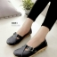 รองเท้าคัทชู สไตล์Loafer หนังนิ้ม สไตล์สุขภาพ (สีดำ ) thumbnail 1