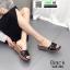 รองเท้าส้นเตารีด สไตล์เกาหลี 028-268-BLK [สีBLK] thumbnail 1