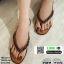 รองเท้าแตะคีบสายโซ่ J317-BRN [สีน้ำตาล] thumbnail 1