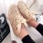รองเท้าผ้าใบแฟชั่น Style Keds รุ่น Champion Glitter (สีทอง ) thumbnail 1