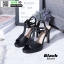 รองเท้าส้นสูงรัดส้น T-Strap G5276-BLK [สีดำ] thumbnail 1