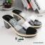 รองเท้าส้นสูงทรงสวยมากค่ะ 8416-BLACK [สีดำ]