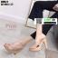 รองเท้าส้นสูงแบบสวม 3006-5-PNK [สีชมพู] thumbnail 3