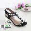 รองเท้าส้นสูง สไตล์เกาหลี 2767-5-BLACK [สีดำ] thumbnail 4