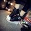 รองเท้าผ้าใบหุ้มข้อส้นเตารีดสีดำ ซิปข้าง Style Converse (สีดำ ) thumbnail 1