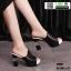 รองเท้านำเข้า100% ส้นแท่งแบบสวม ST920-BLK [สีดำ] thumbnail 1