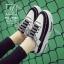 รองเท้าผ้าใบแฟชั่นสีดำ korea style ดีไซน์เก๋ส์ (สีดำ )