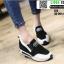 รองเท้าผ้าใบเสริมส้น งานนำเข้า100% ST3-WHI [สีขาว] thumbnail 1